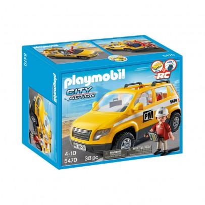 PLAYMOBIL® Chef de chantier et véhicule d'intervention  réf.5470-listing