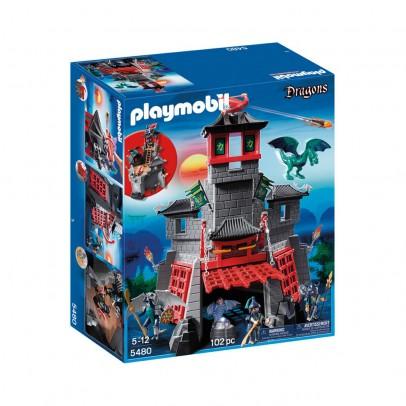 PLAYMOBIL® Citadelle secrète du Dragon  réf.5480-listing