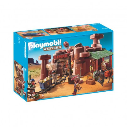 PLAYMOBIL® Mine d'or avec explosif réf.5246-listing