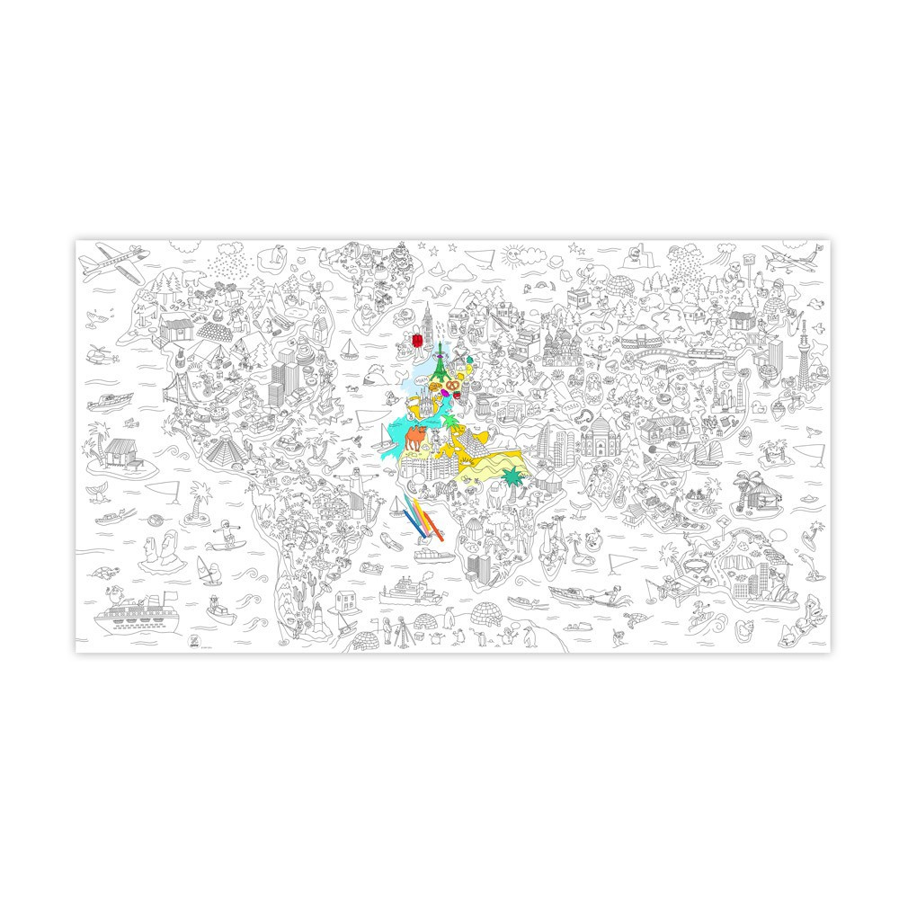 Omy Coloriage géant Atlas-product