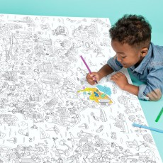 Omy Atlas Giant Colouring-in Poster-listing