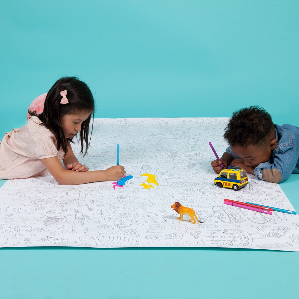 Omy Atlas Giant Colouring-in Poster-product