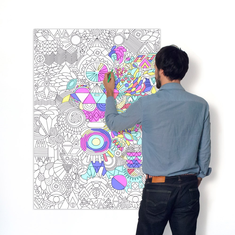 Omy Póster Gigante Patchwork-product