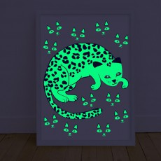 Omy Leo glow-in-the-dark Poster-listing