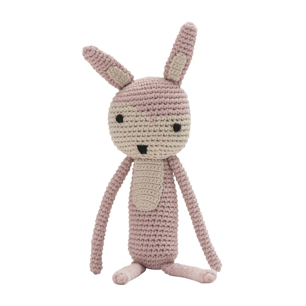 crochet soft toy - soft pink-product