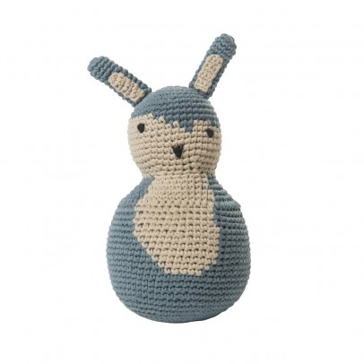 Sebra Rabbit - sky blue-listing