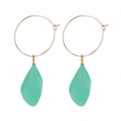 Hophophop Feathers earrings-listing