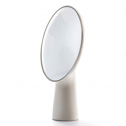 Moustache Specchio da tavolo Cyclope - Bianco-listing