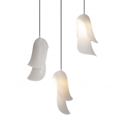 Moustache Cape suspended lamp - light grey-listing