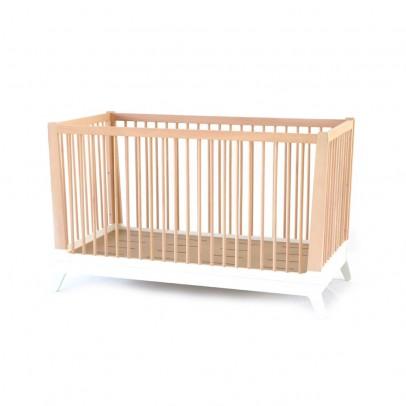 Nobodinoz Lit bébé évolutif - Blanc-listing
