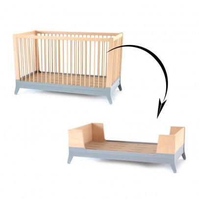 Nobodinoz Umwandel Set für Babybett - Grau-listing