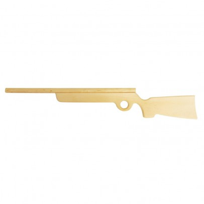 Bass & Bass Wooden rifle 75 cm-listing