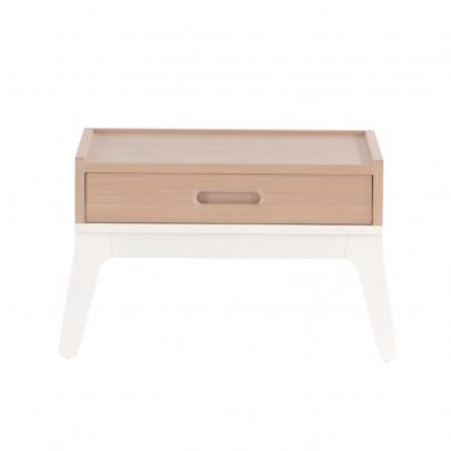 Nobodinoz Table de nuit - Blanc-listing