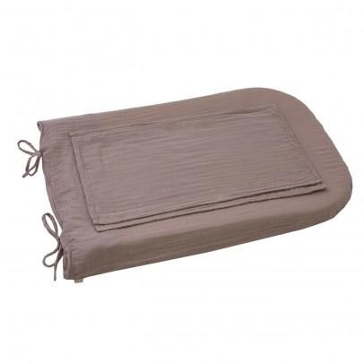 Numero 74 Funda de colchón de cambiado redondo - Rosa envejecido-product