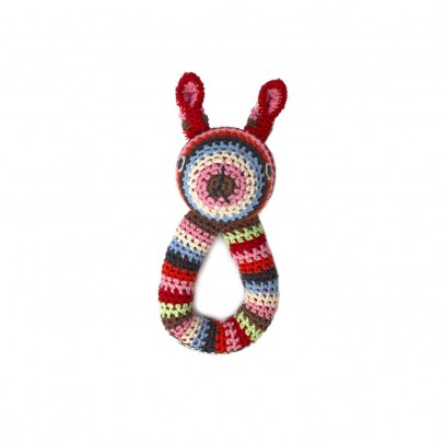 Anne-Claire Petit Hochet lapin  Multicolore-listing
