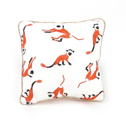 Nobodinoz Cushion - little monkeys-listing
