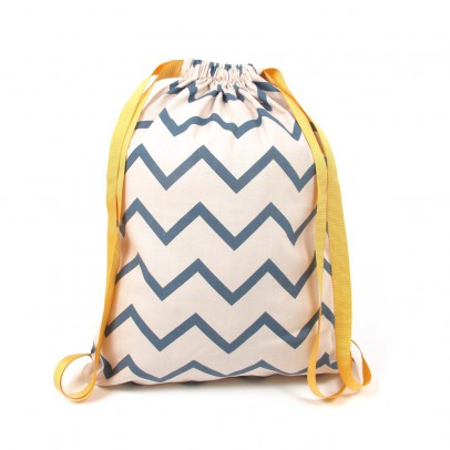 Nobodinoz Backpack - zig zag-listing