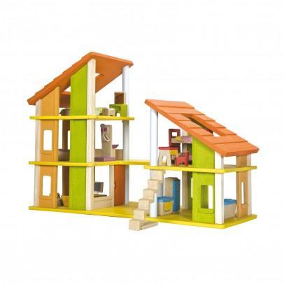 Plan Toys Casa de muñeca Chalet amueblado-listing