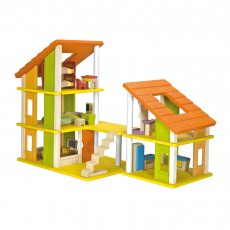 Plan Toys Furnished chalet dollshouse-listing
