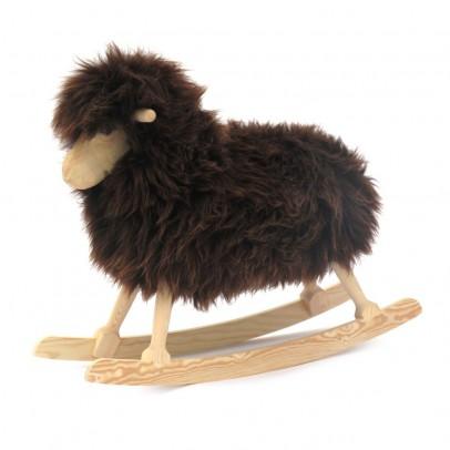 Danish Crafts-Povl Kjer Mouton à bascule - Noir-listing
