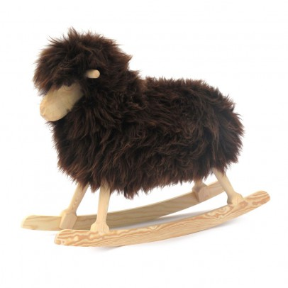 Danish Crafts-Povl Kjer Rocking sheep - black-listing