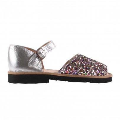 Minorquines Glitter Frailera buckle sandals-listing
