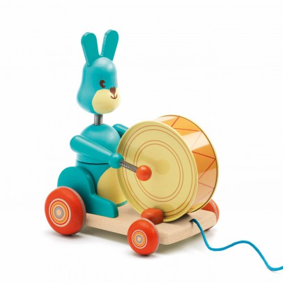 Djeco Bunny boum pull toy-product
