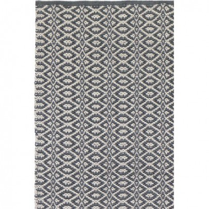 Liv Interior Bergen Cotton rug - grey-listing