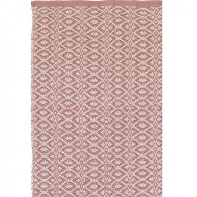 Liv Interior Bergen Teppich aus Baumwolle- rosa-listing