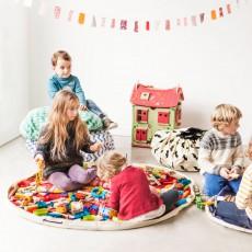 Play and Go Bolsa/Alfombra de juego - Zig zag-listing
