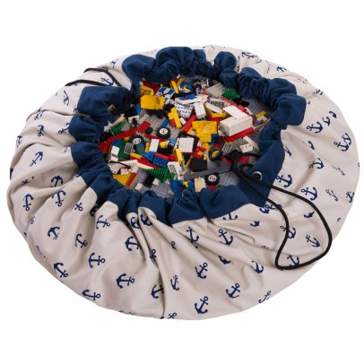 Play and Go Bag/Play mat - Anchors-listing