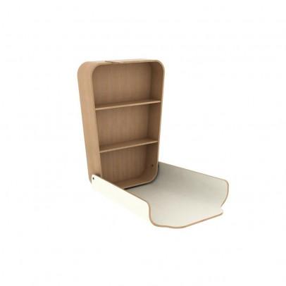 Charlie Crane Table à langer Noga - Blanc-listing