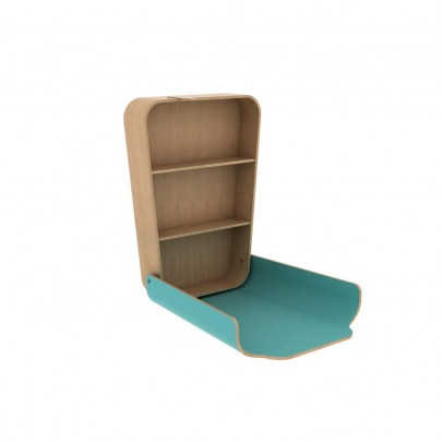 Charlie Crane Changing table - Aruba Blue-listing