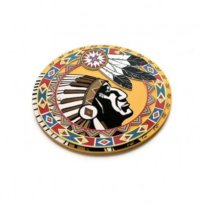 Lion Touch Native American Indian shield-listing
