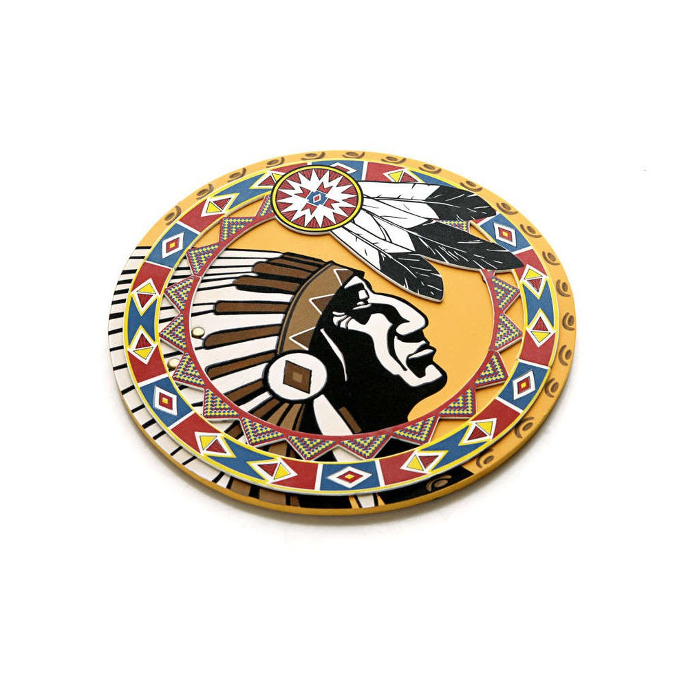 Lion Touch Native American Indian shield-product