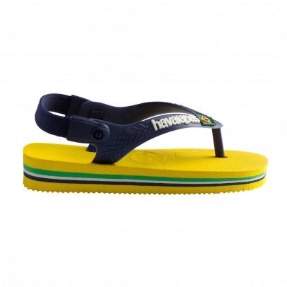 Havaianas Brasil Logo Baby Flip Flops-listing