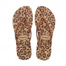 Havaianas Zehensandalen Slim Animals Leopard-listing