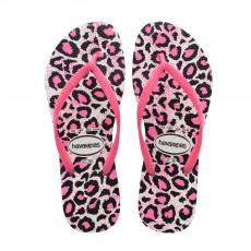 Havaianas Animals Leopard slim flip flops-listing