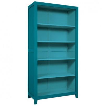 Laurette Libreria Parigina - Blu petrolio-listing