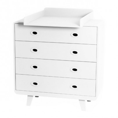 Laurette You and me changing table - white-listing