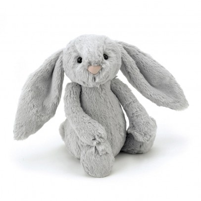 Jellycat Bashful the Bunny with big ears - grey-listing