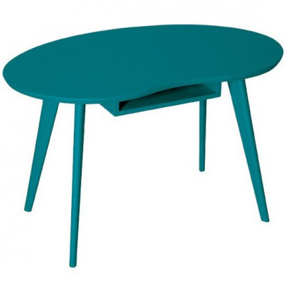 Laurette Tisch Haricot-blau -listing