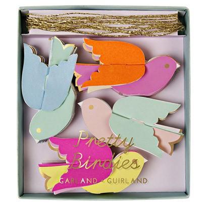 Meri Meri Guirnalda de papel - Pájaros-listing