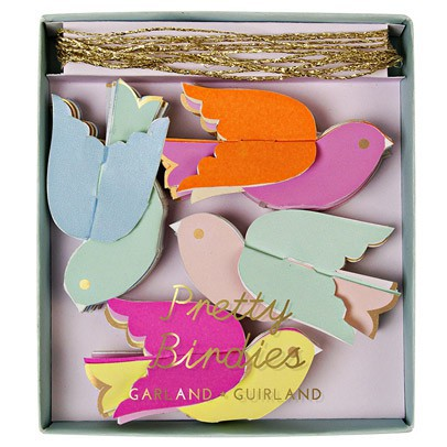 Meri Meri Paper garland - birds-product