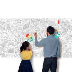 Omy Giant Colouring in - London-listing