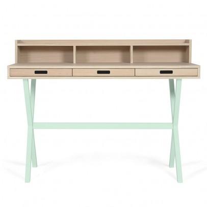 Hartô Hyppolite Schreibtisch-hellgrün -listing