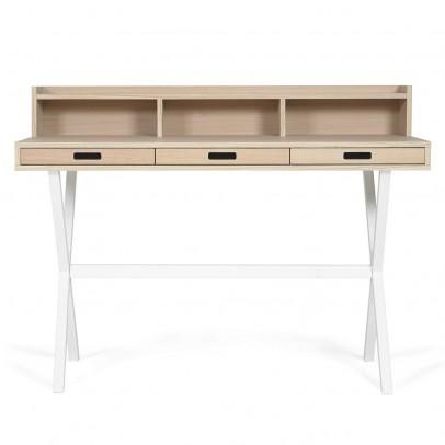 Hartô Hyppolite Schreibtisch-weiß-listing