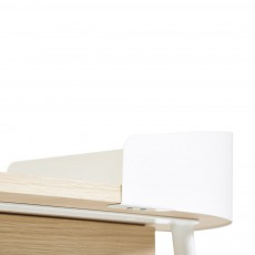 Hartô Victor Schreibtisch-weiß-listing
