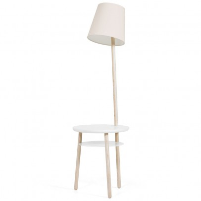 Hartô Josette lamp and table in one - linen-listing