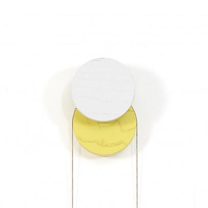 Hartô Ganchos Lou - Gris claro y amarillo-listing